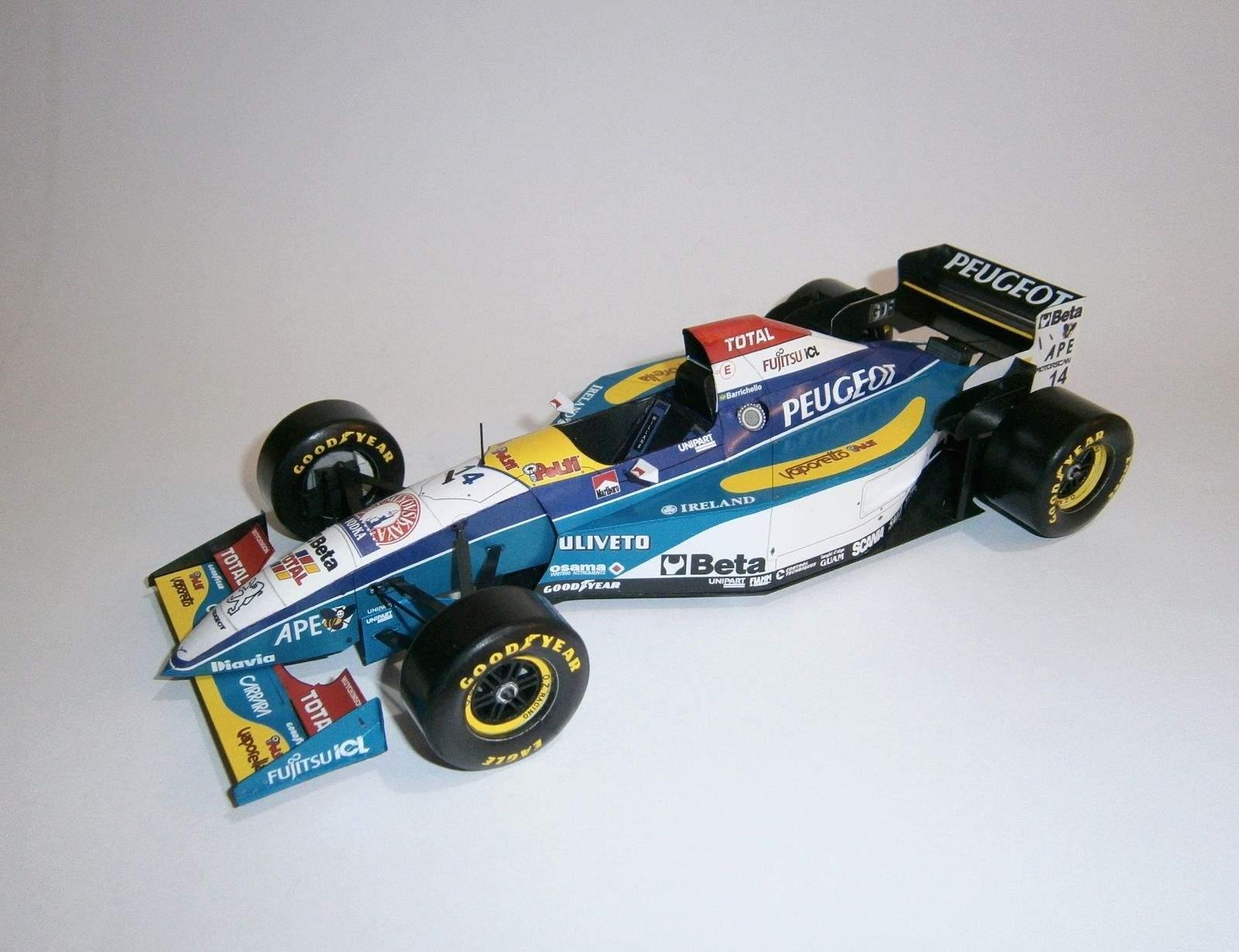 Jordan 195 - R.Barrichello, GP Spain 1995