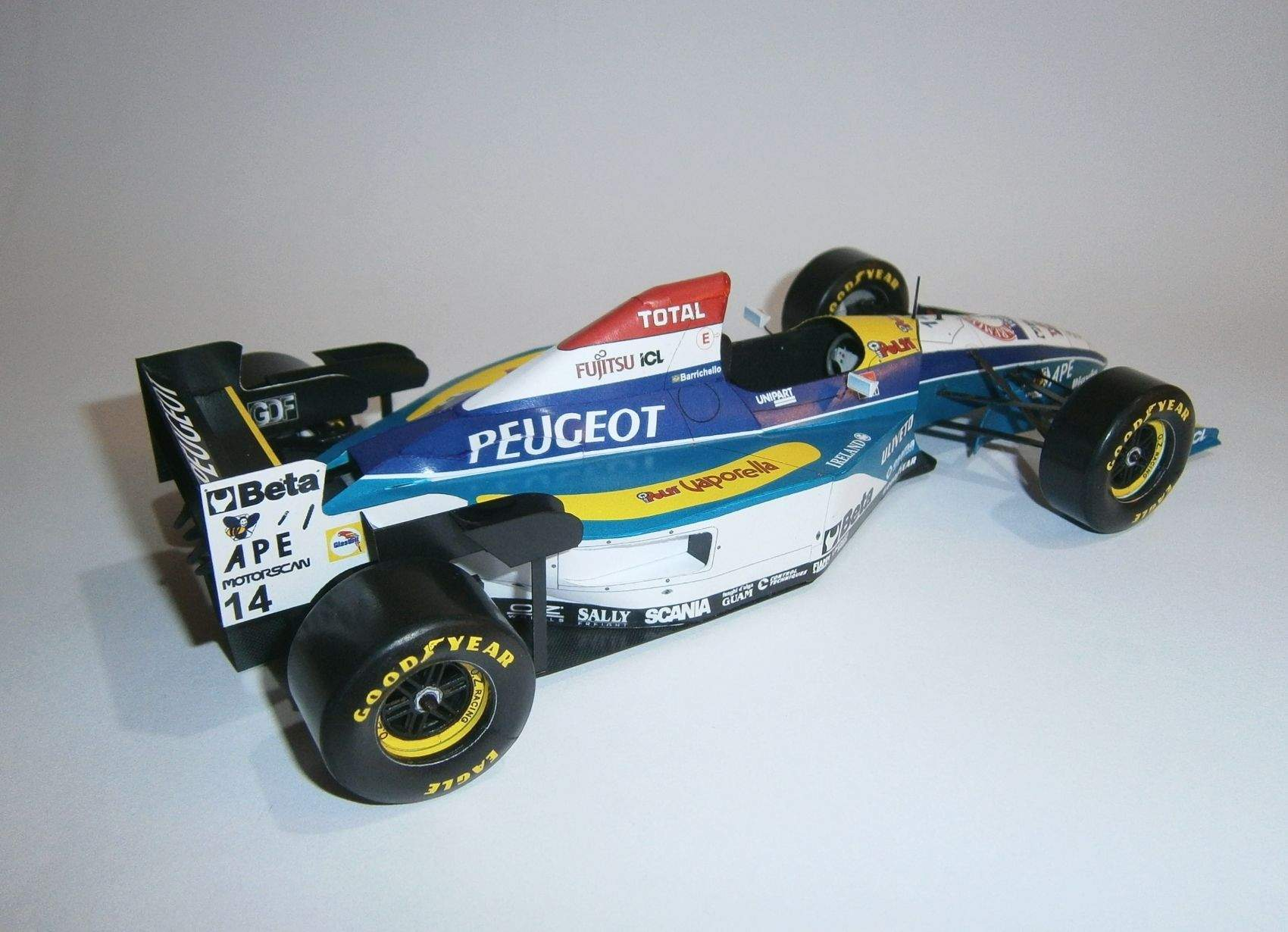 Jordan 195 - R.Barrichello, GP Spain 1995