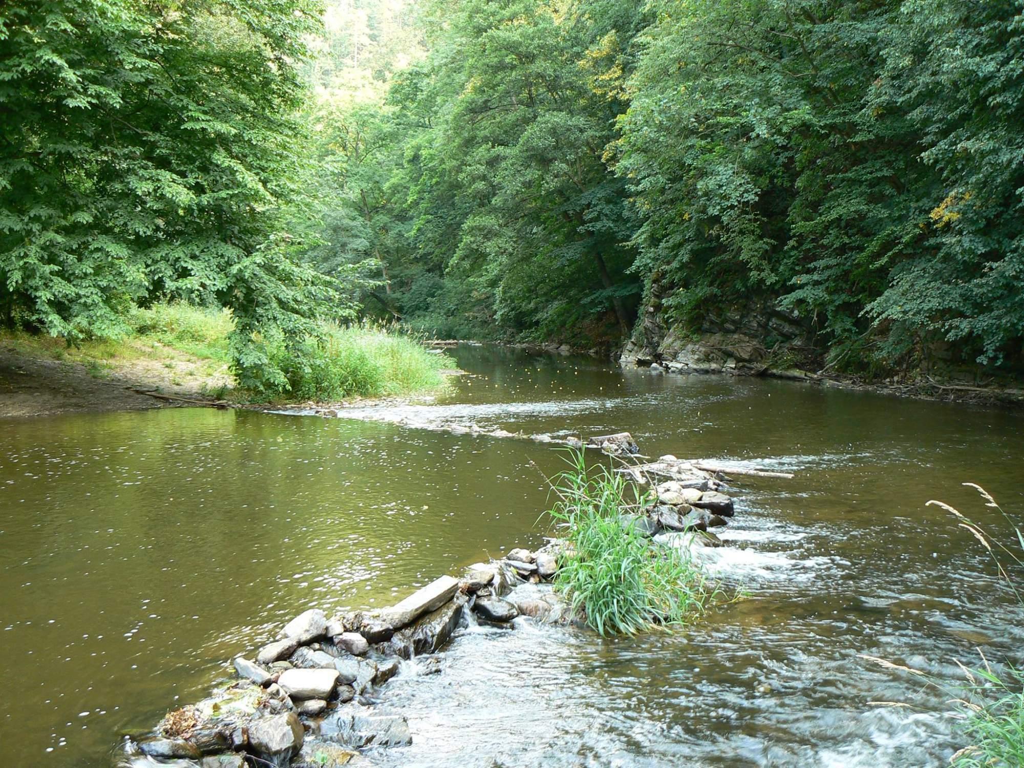 Údolí Oslavy, které je v Generelu lokalit pro akumulaci povrchových vod
