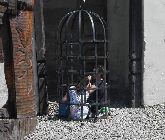 Hradní dětský koutek. Foto: Dominika Vrbecká