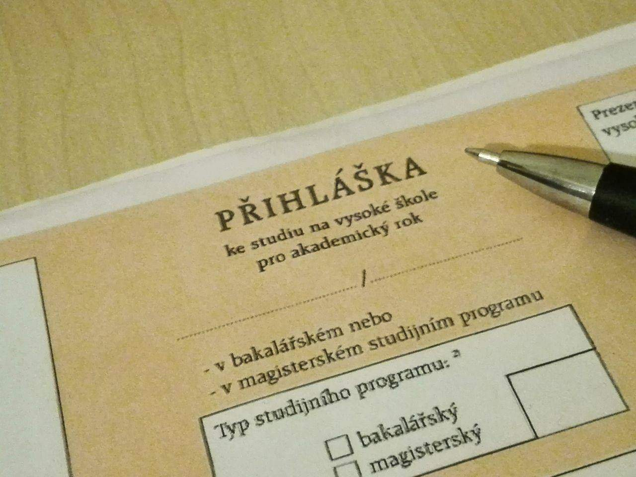 Přihlášku je třeba vyplnit nejpozději do konce března. Foto: Dominika Vrbecká