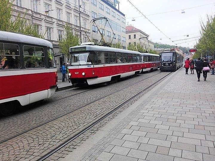 V roce 2015 bylo průměrné stáří brněnských tramvají více než dvacet let. Foto: Dominika Vrbecká