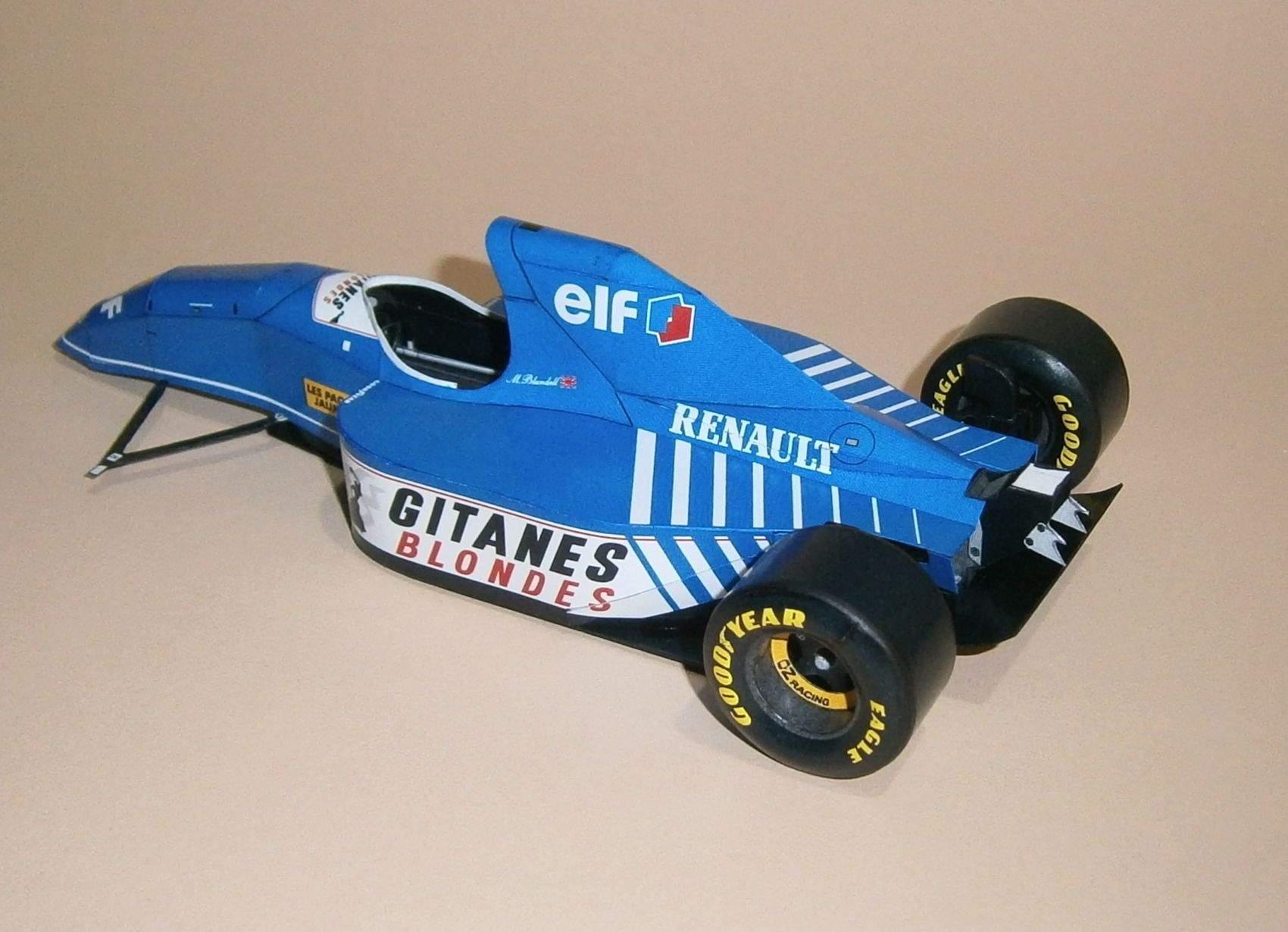 Ligier JS39 - M. Blundell, GP Monaco 1993