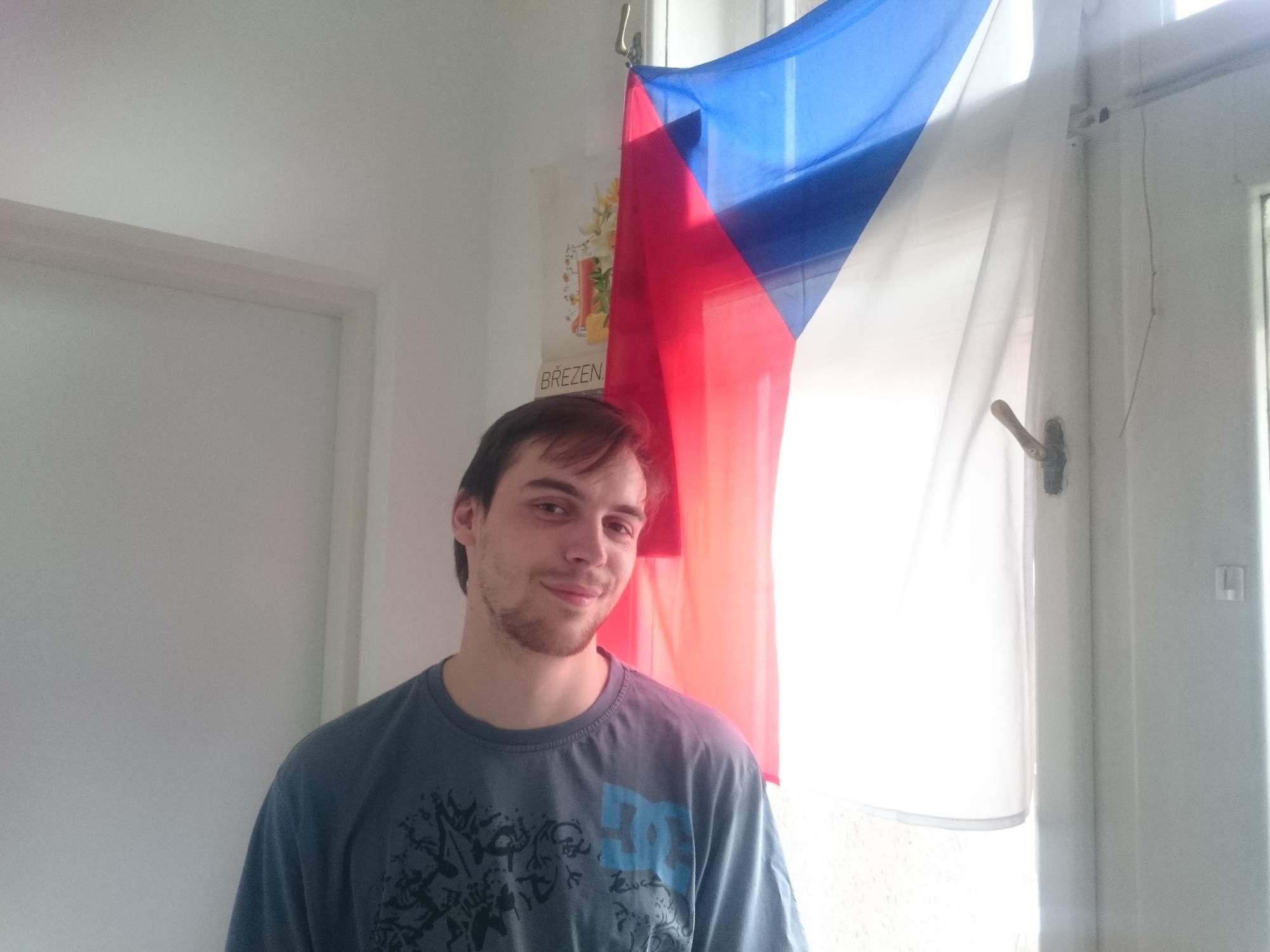 Patrik Žák žije v Česku už tři roky. Foto: Jan Kočenda