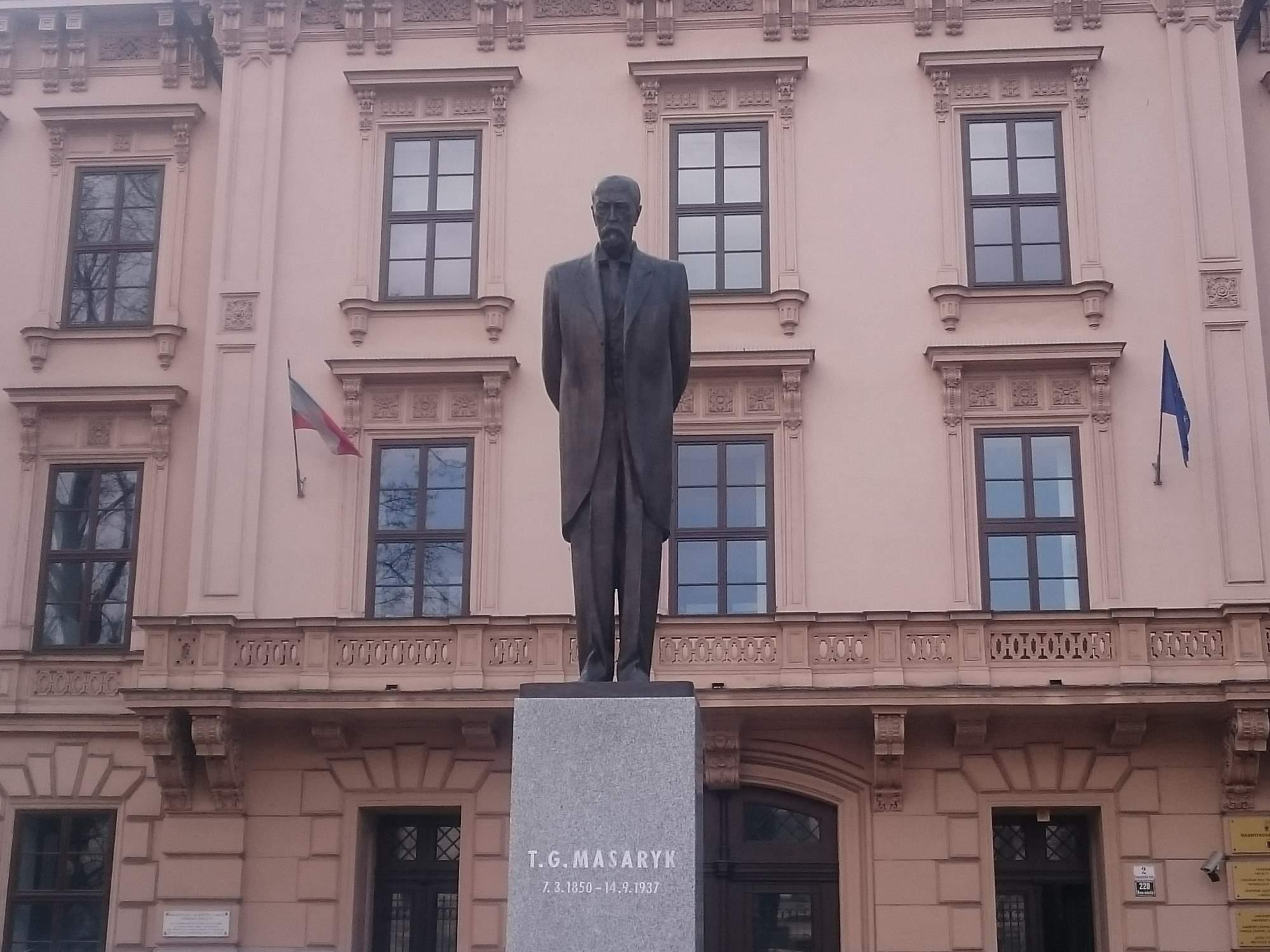 První Československý prezident Tomáš Garrigue Masaryk. Foto: Jan Kočenda