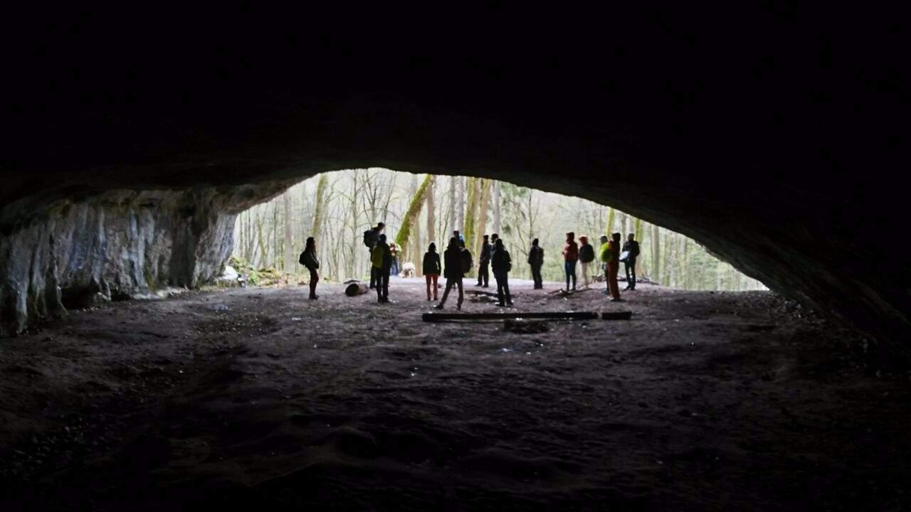 Uvnitř jeskyně Pekárna. Foto: Marie Mrázová