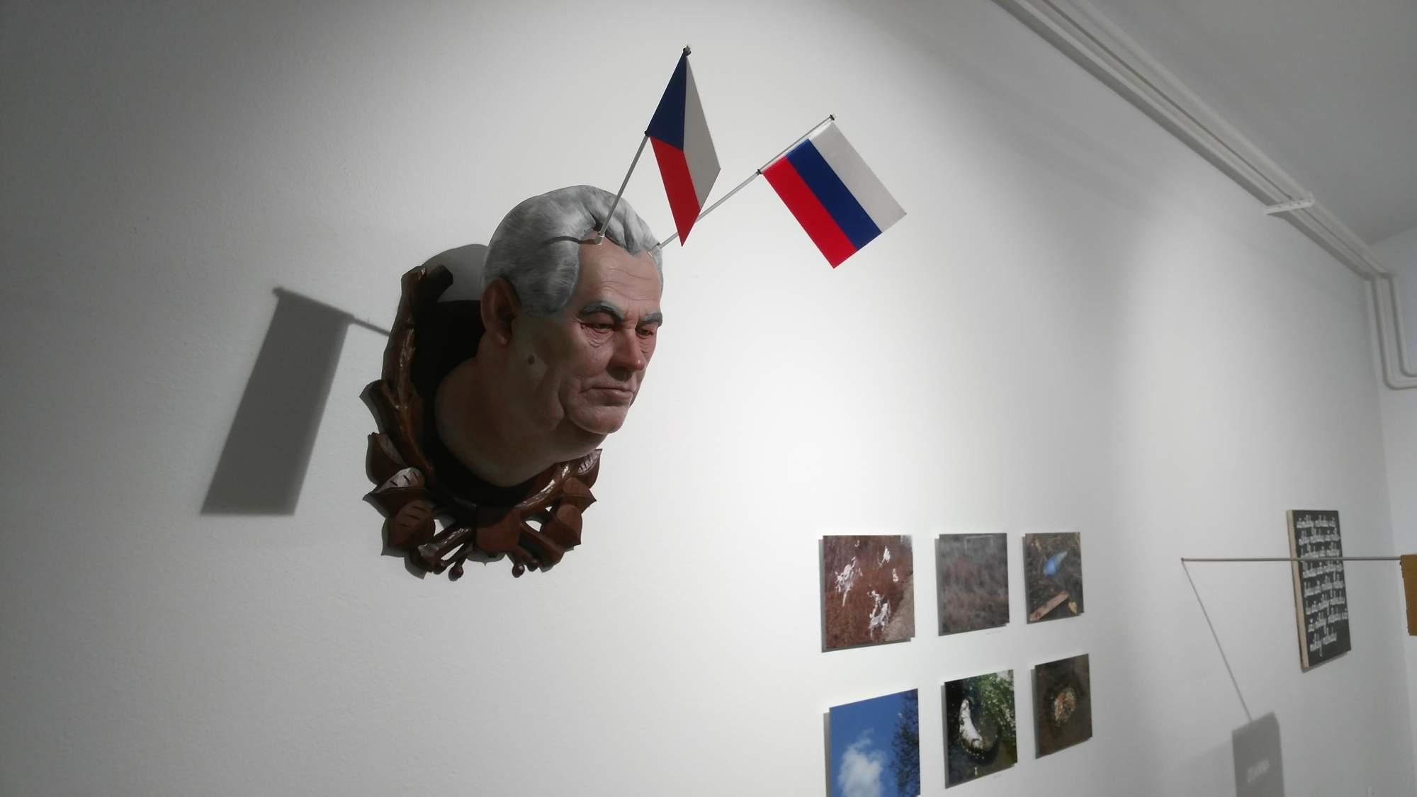 Bysta prezidenta Miloše Zemana. | FOTO: Marie Mrázová