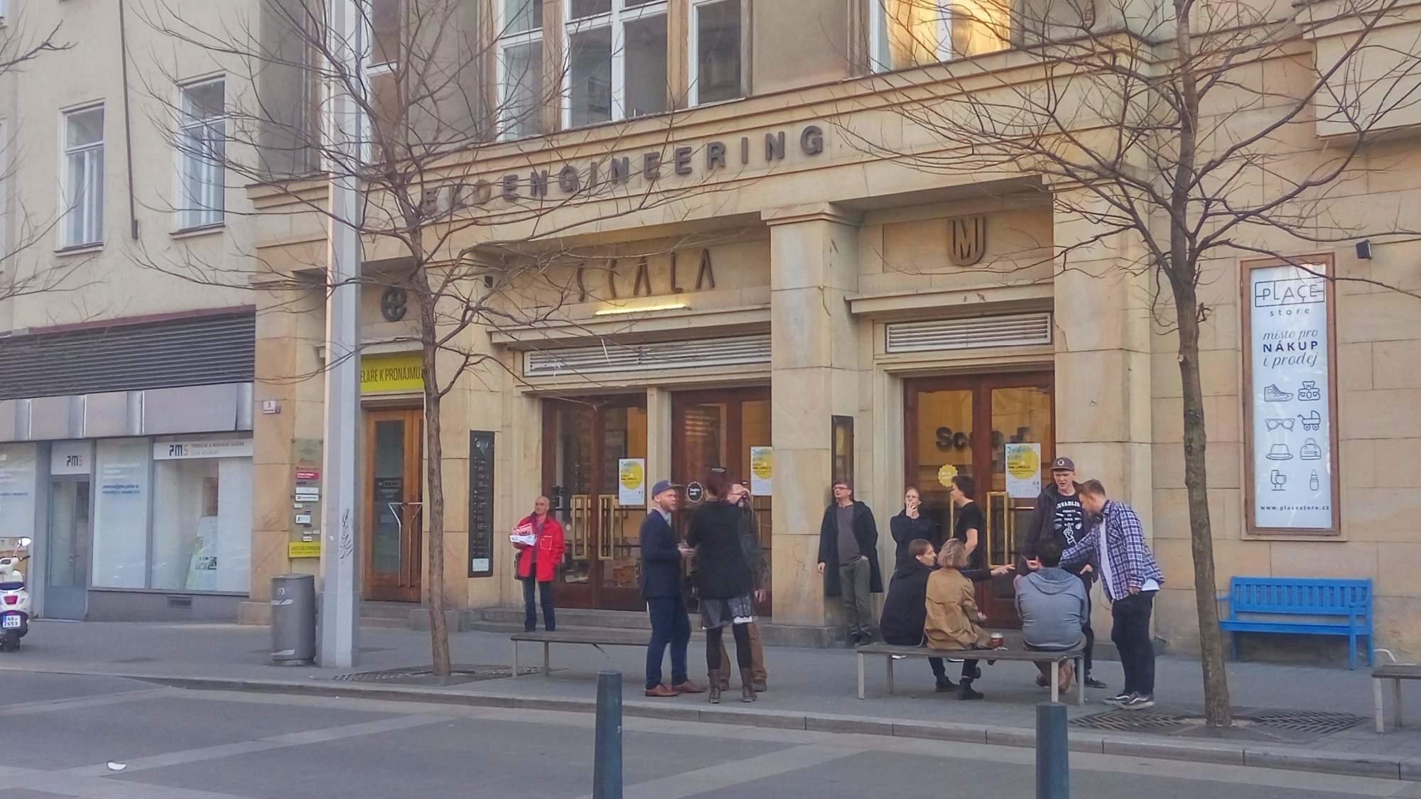 Festival Jeden svět potrvá do 4. dubna, jedním z promítacích míst je i kino Scala. Foto: Michaela Lebedíková
