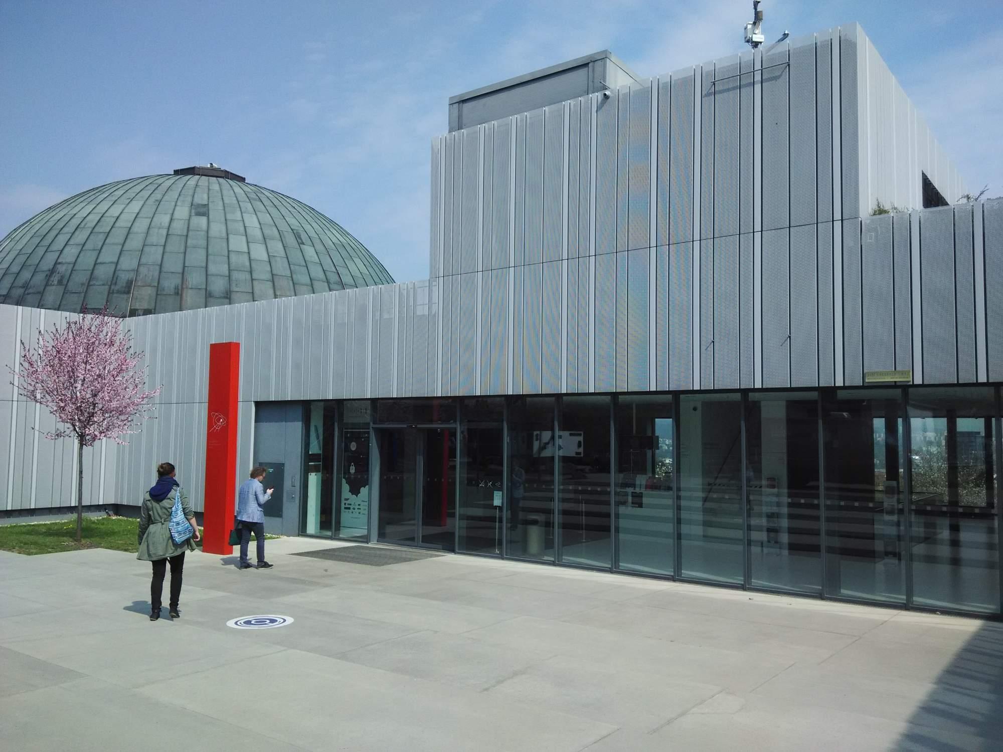 Hvězdárna a planetárium Brno. Foto: Michael Malík