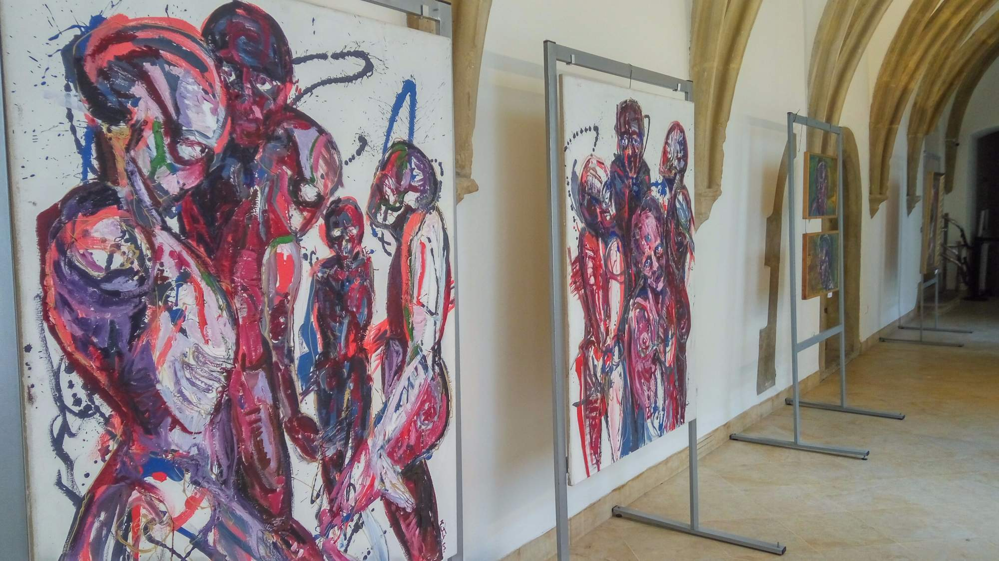 Díla Karla Švába patří k těm nejexpresivnějším, jaké výstava nabízí. | FOTO: Michaela Lebedíková