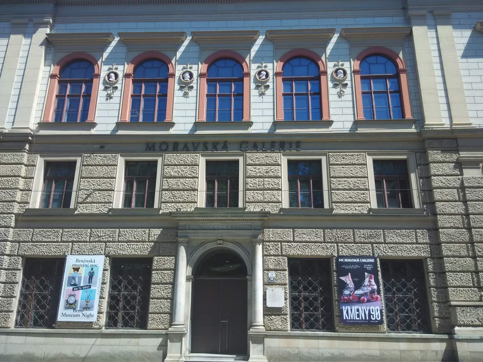 Uměleckoprůmyslové muzeum Moravské galerie. FOTO: Michael Malík