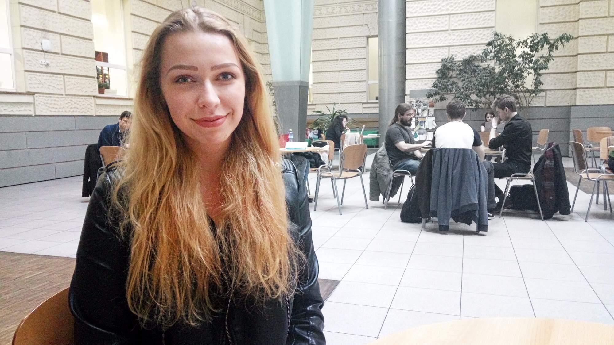Erasmus Karin Majerčákovou nadchnul tolik, že se ihned po příjezdu domů přihlásila na další.   FOTO: Michaela Lebedíková