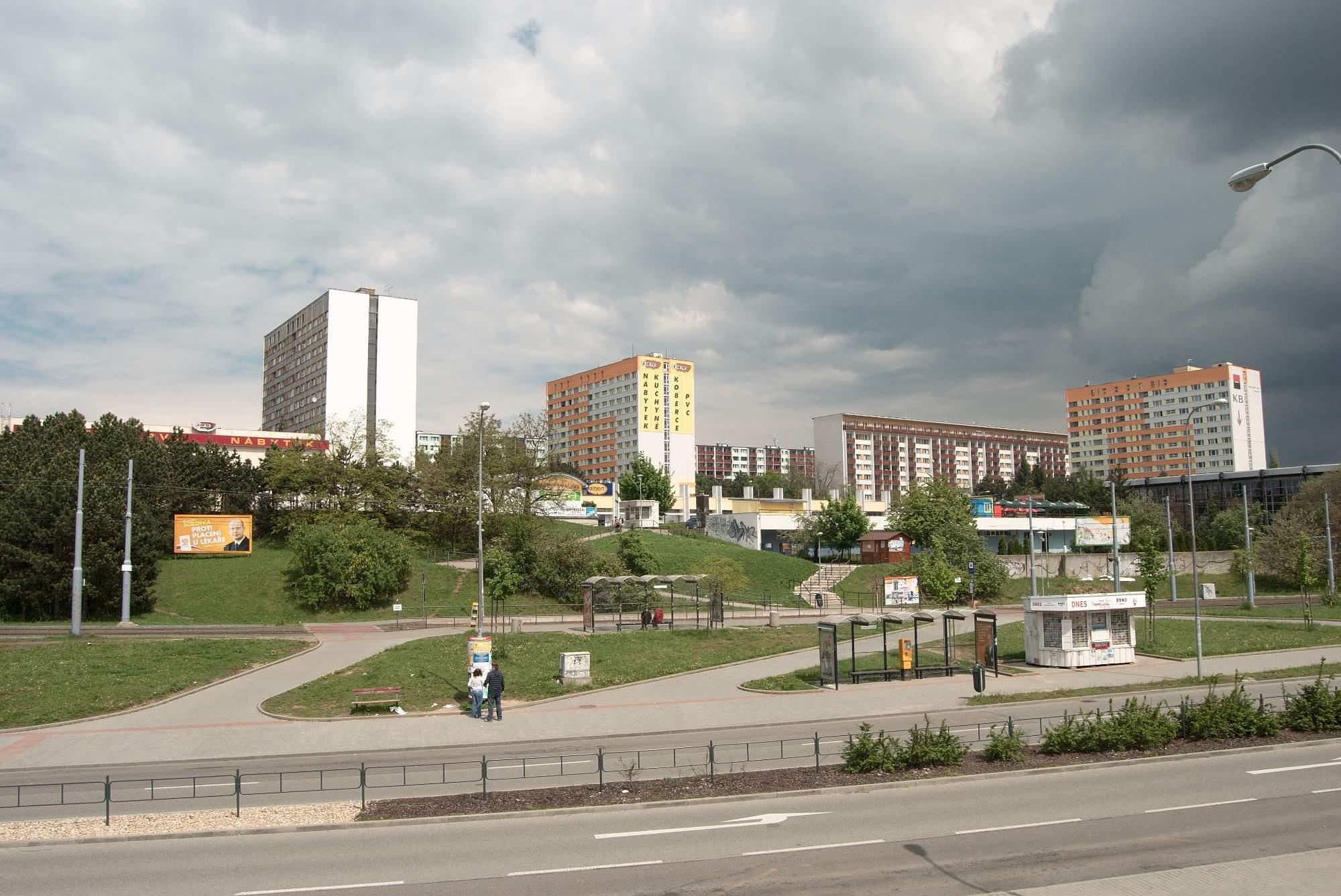Okružní ulice v Brně. (zdroj: Wikimedia Commons)