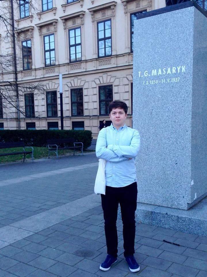 Staněk a Masaryk. Foto: Tereza Kučerová