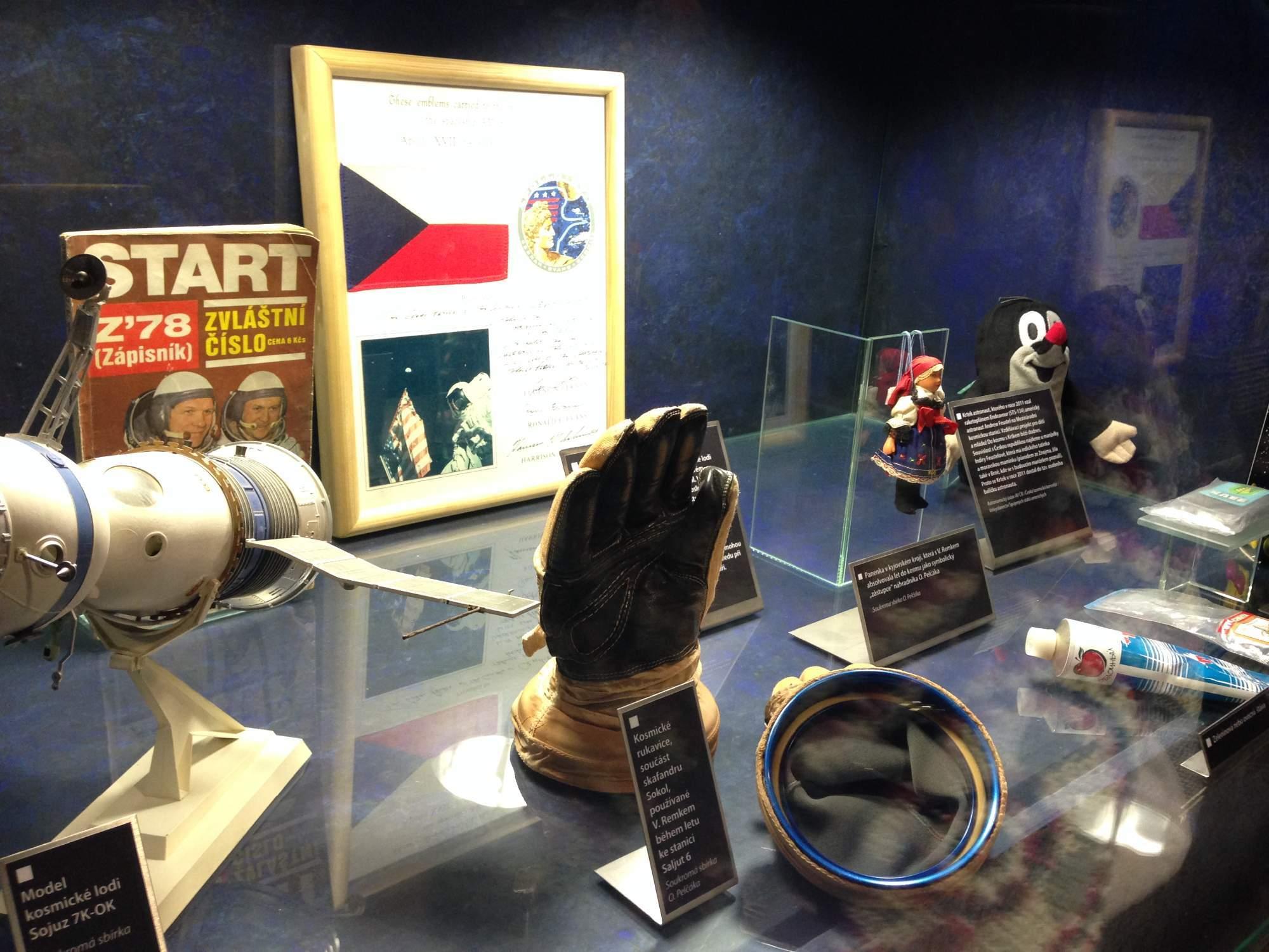 Výstavu navštívil i