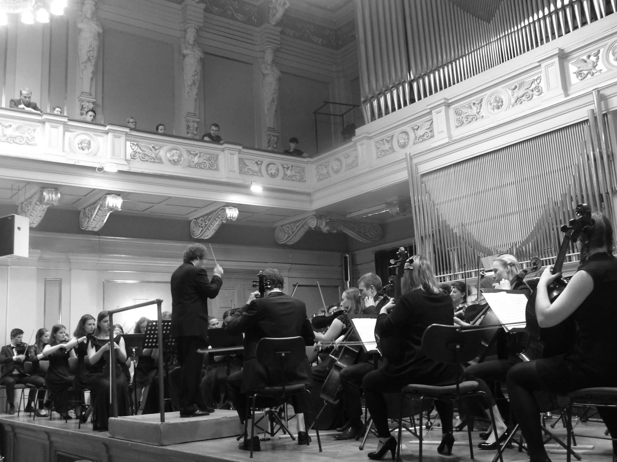 Orchestr Masarykovy univerzity. Foto: Tereza Kučerová