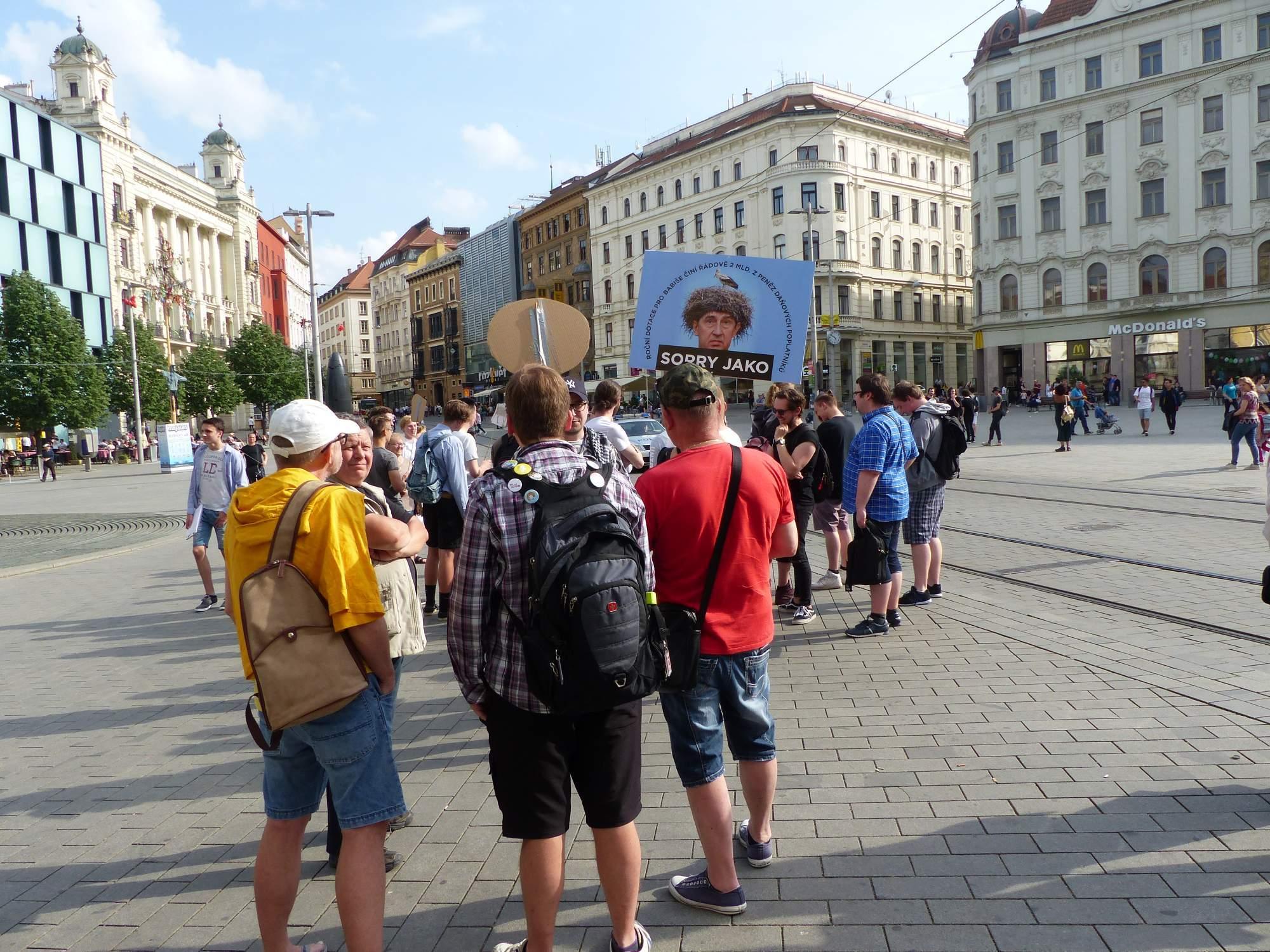 Sorry jako. Foto:Tereza Kučerová