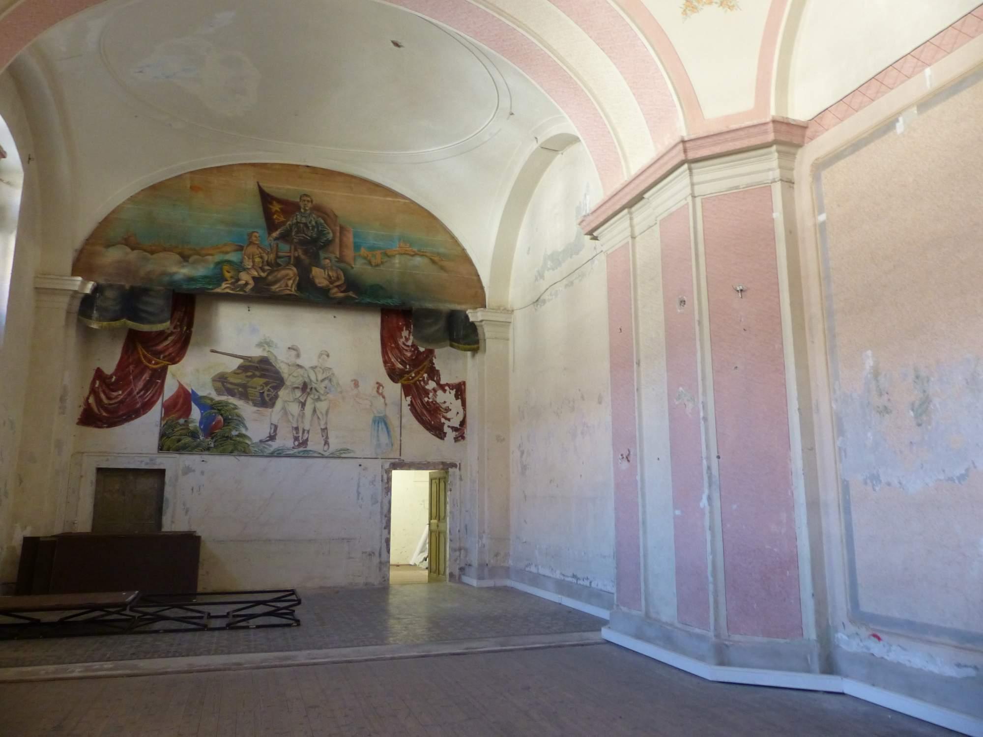 Socialismem poničená kaple v Káznici. Foto: Tereza Kučerová