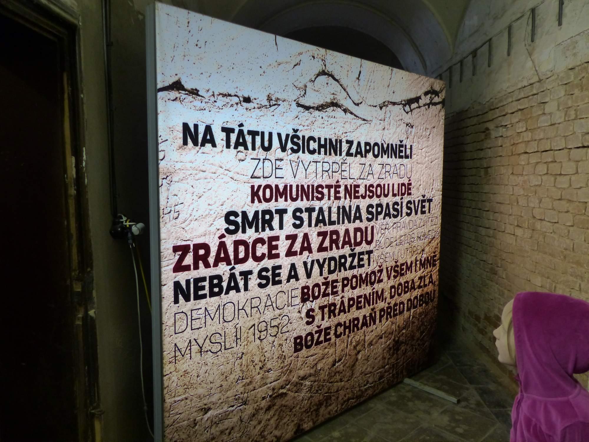 Dochovaly se i vzkazy vězňů. Foto: Tereza Kučerová