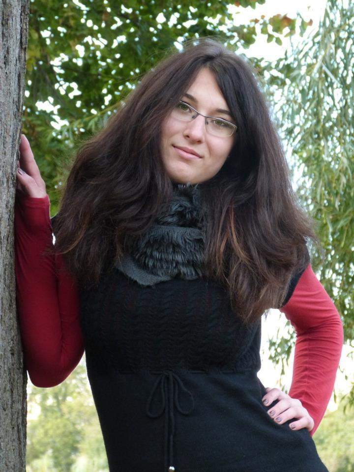 Organizátorka přednášek Meet and Inspire a členka projektové sekce Munie Petra Galušková. Foto: Iveta Kolářová
