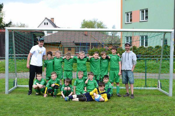 Turnaj starší fotbalové přípravky TJ AZAS Dolní Čermná 6.5.2017