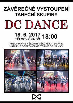 Závěrečné vystoupení DC Dance 18.6.2017