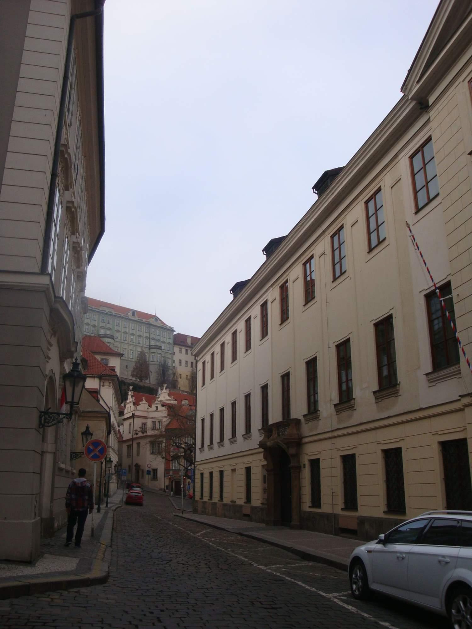 Poslanecká sněmovna v Praze