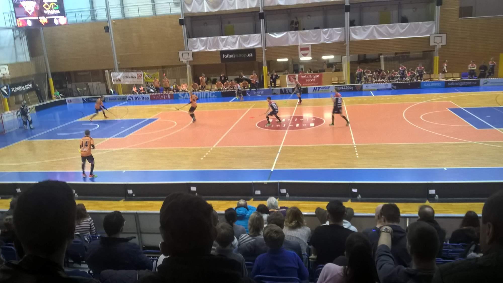 Florbalisté Brna a Znojma ve 4. zápase série play-down