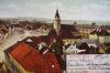 Heřmanův Městec - Náměstí ze zámecké věže.
