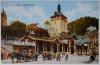 Karlovy Vary - Kolonáda na trřišti.