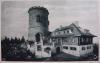 Kleť - Josefská věž s chatou Terezinou.