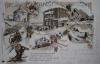 Krkonoše - Kaple na Sněžce, Petrova bouda, bouda na Sněžce, Bouda prince Jindřicha a Luční bouda.