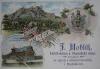 Kunětická hora - Hrad a letohrádek hraběte Drascheho v podhradí, dnes Perníková chaloupka.
