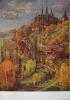 Kutná Hora - Chrám sv.Barbory. Maloval Joserf Krčil.