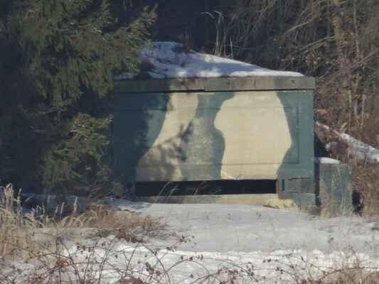 A druhý. Novodobý odporný bunkr na nové střelnici na Brdě.