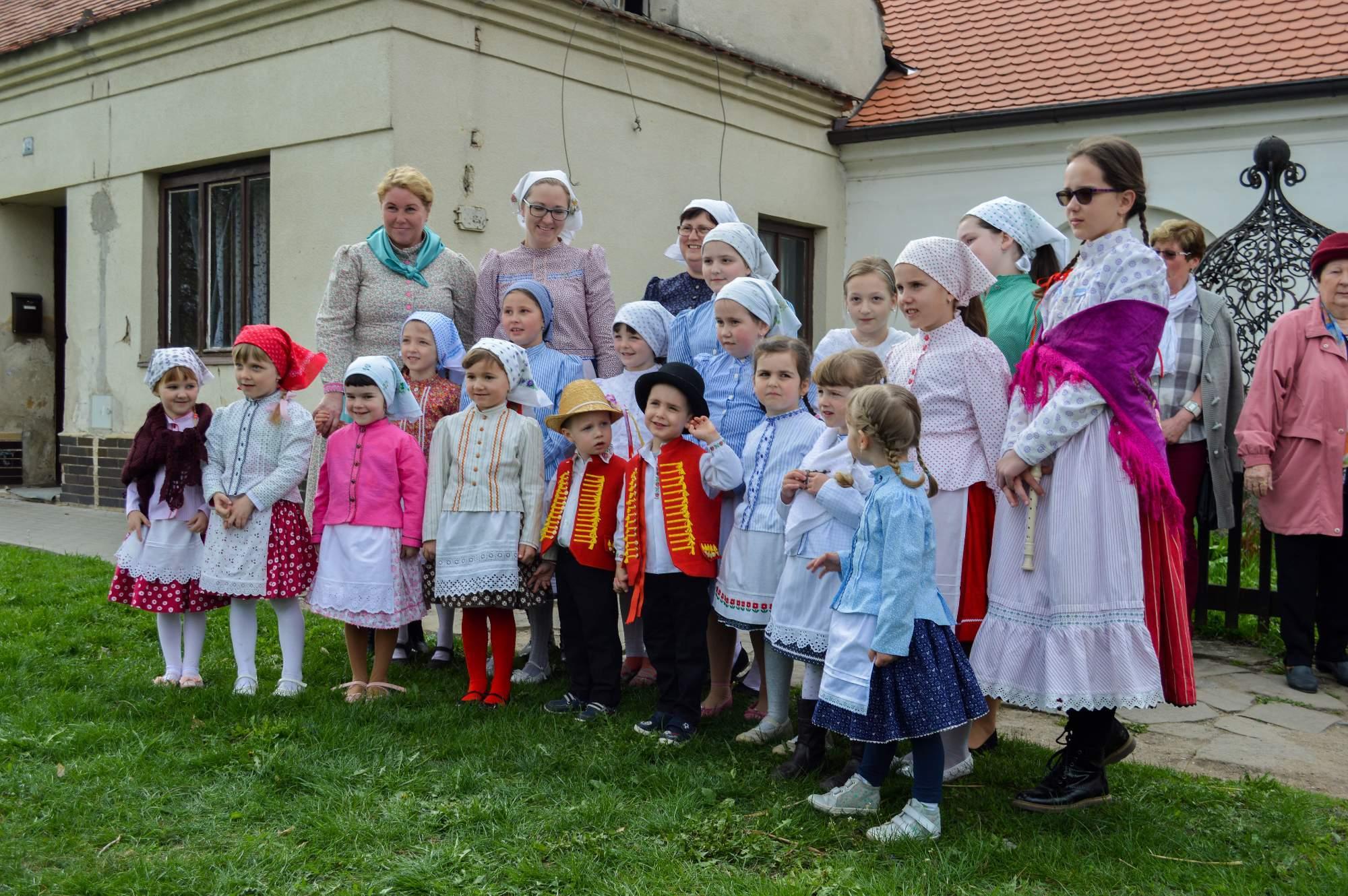 Soubor Lušňáček navštěvují pouze dva chlapci. Foto: Eva Bartáková