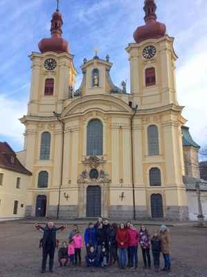 07 Hlavní cíl jarních prázdnin - poutní kostel Panny Marie v Hejnicích.