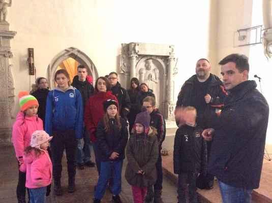 08 Na návštěvě kostela ve Frýdlantu v Čechách. Provází nás Vít Audy.