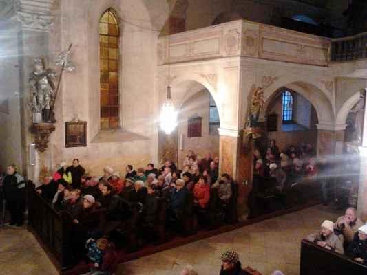 130 návštěvníci adventního koncertu v Jirkově