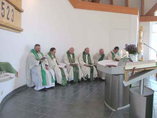 122 na přátelské návštěvě v kostele v sousedním Olbernhau.