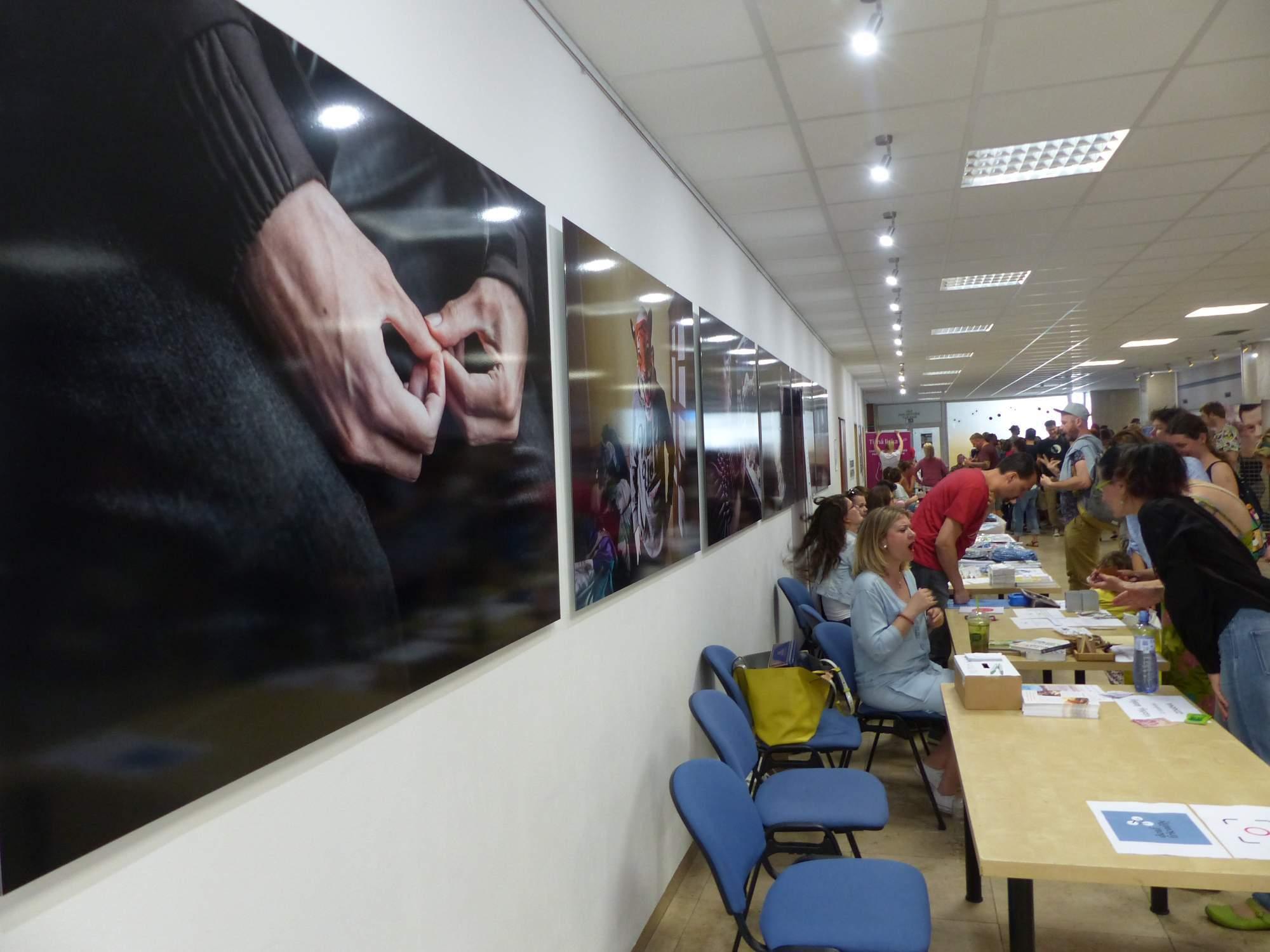 Organizace na Deaflandu. Foto: Tereza Kučerová