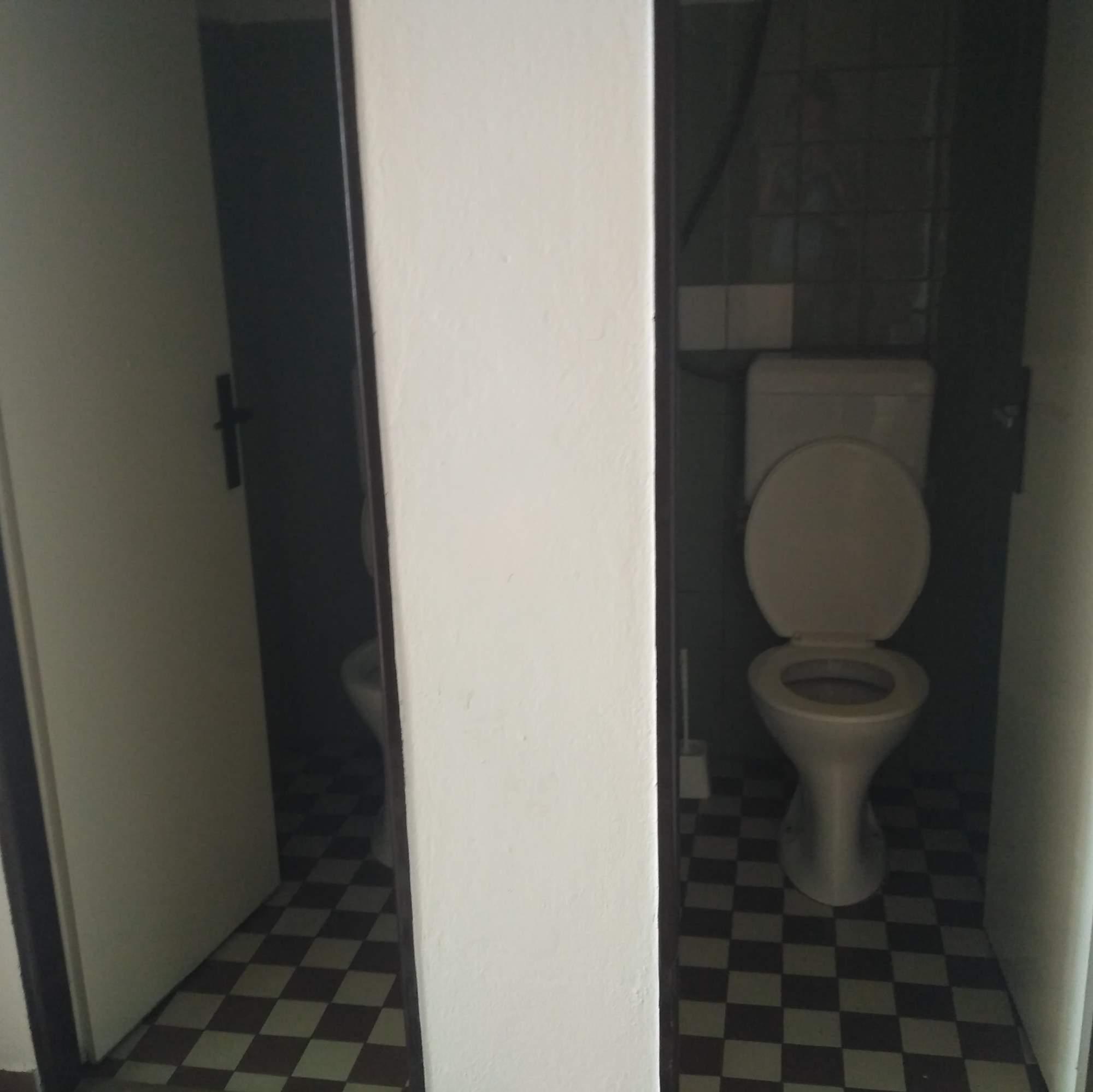 Toalety koleje Veveří