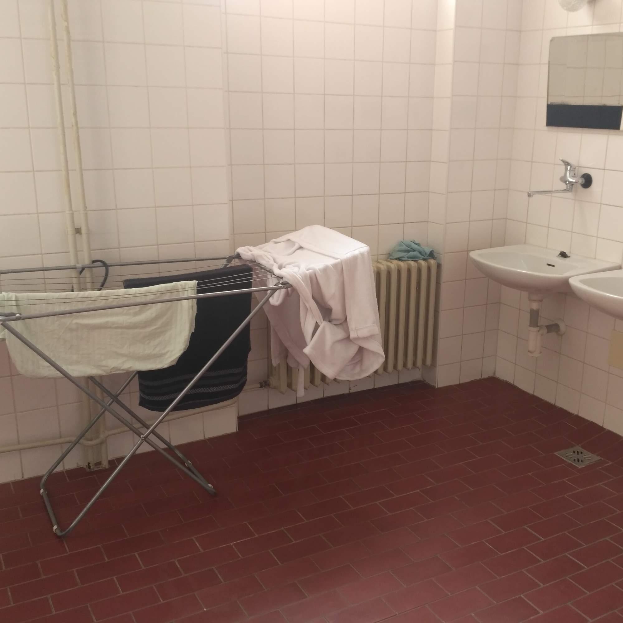 Koupelna koleje Veveří