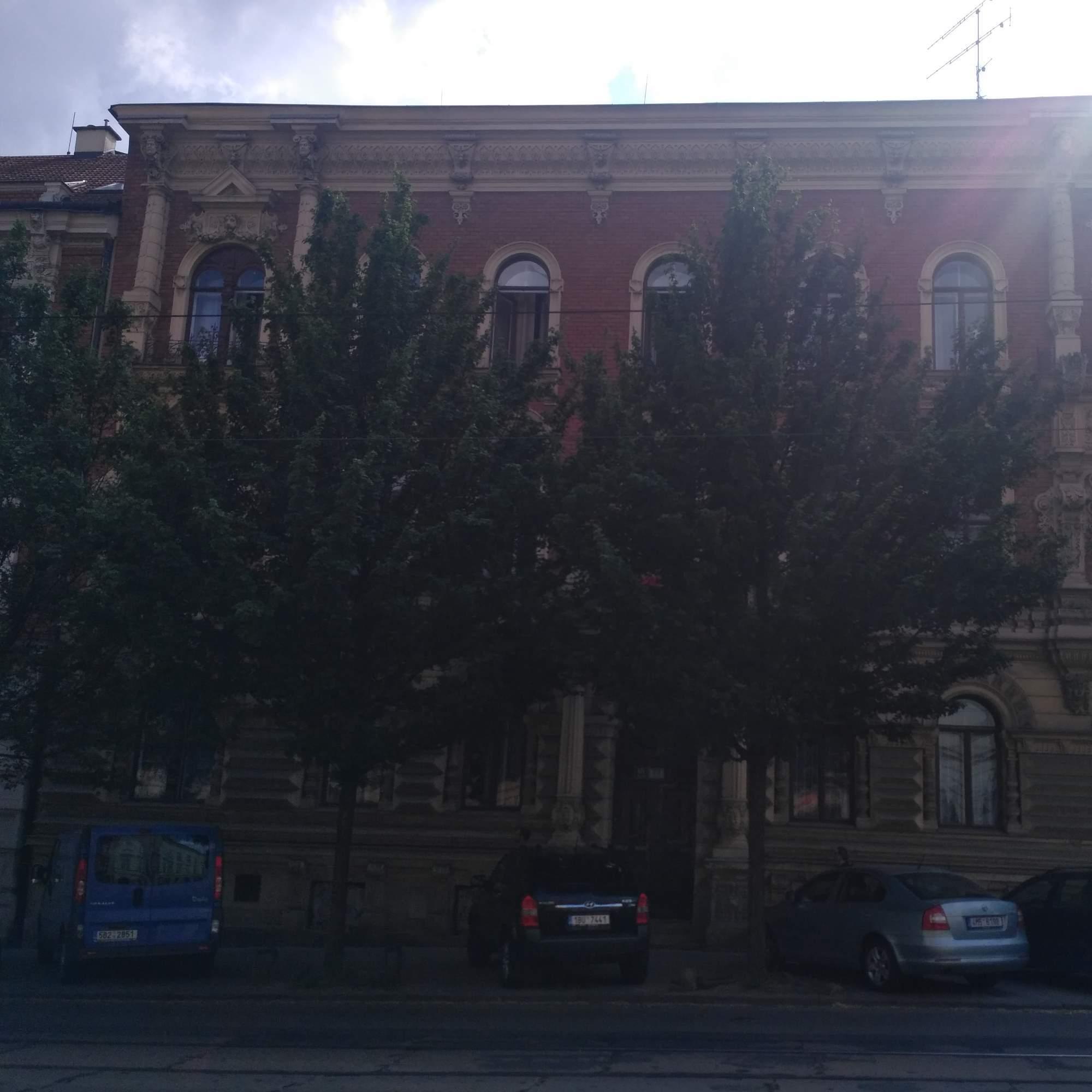 Budova koleje Veveří