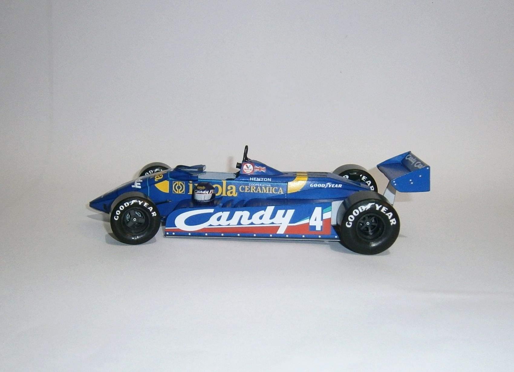 Tyrrell 011 - B.Henton, GP Imola 1982