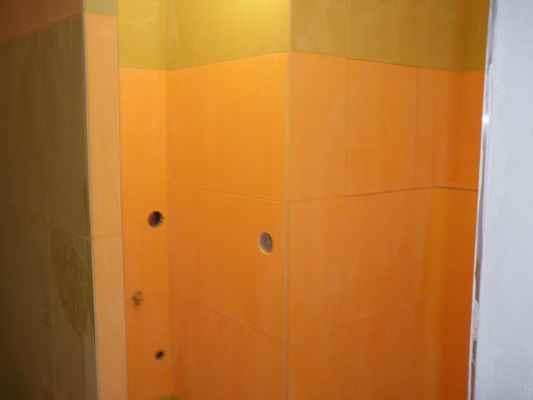 Rekonstrukce koupelny  Praha 4