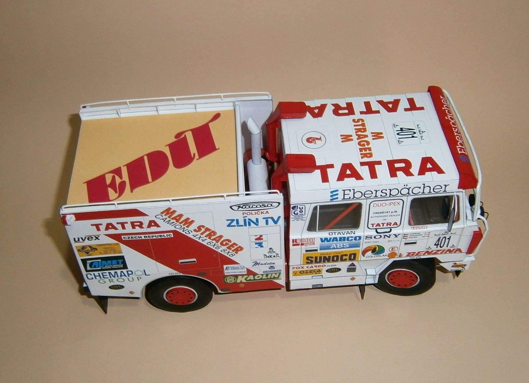 Tatra 815 Paříž-Dakar-Paříž 1994